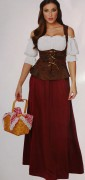Renaissance Maiden, Tavern Wench, Midevil Peasant Girl - American Costumes Las Vegas