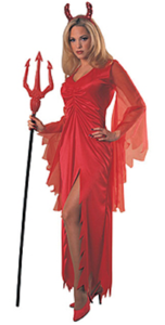 female devil costume