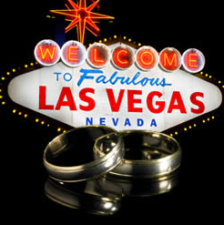 las vegas themed wedding