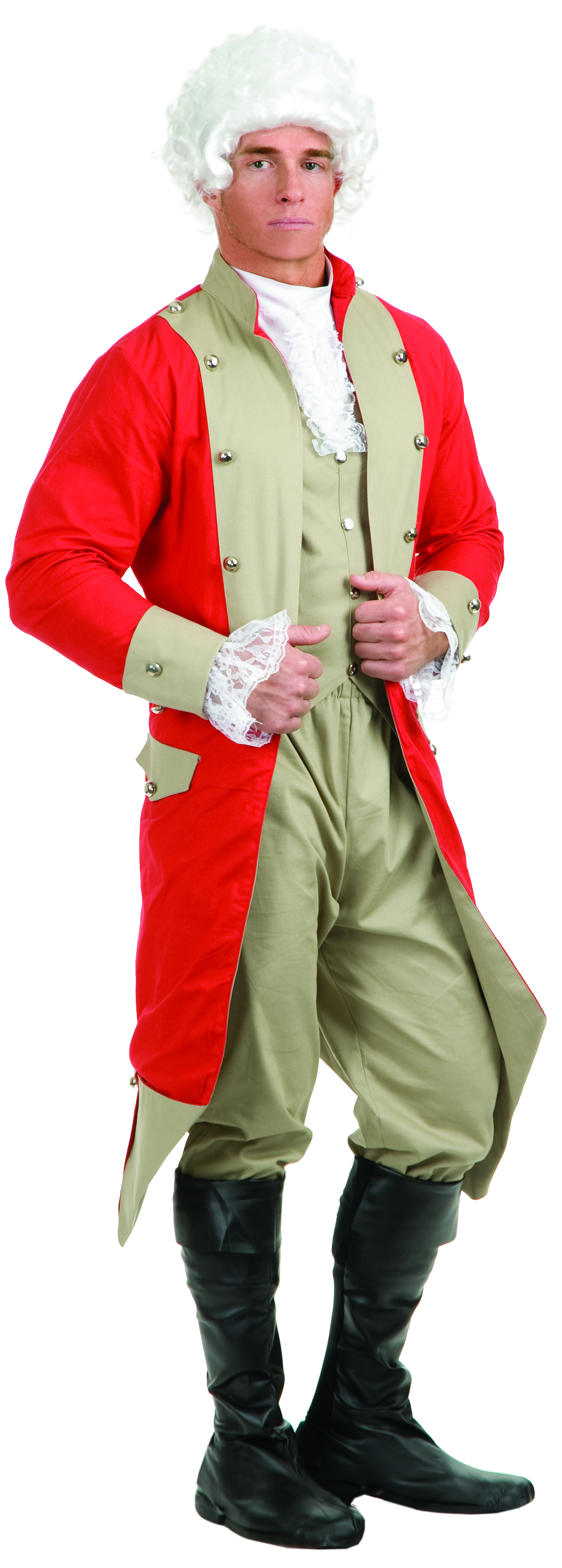 18th Cent 1700's Costumes - British -Redcoat - American Costumes Las Vegas