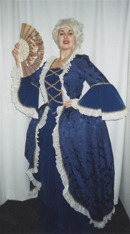 18th Cent 1700's Costumes - Marie  Antoinette -Colonial Woman - American Costumes Las Vegas
