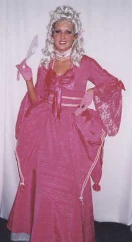 18th Cent 1700's Costumes - Marie  Antoinette - Colonial Woman - American Costumes Las Vegas