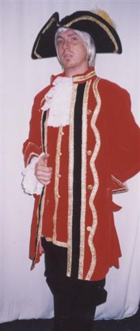 18th Cent 1700's Costumes -British - Redcoat - Hook - Captain -Pirate - American Costumes Las Vegas