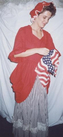 18th Cent 1700's Costumes - Colonial Woman - Betsy Ross - American Costumes Las Vegas