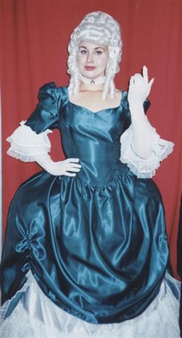 18th Cent 1700's Costumes - Colonial Woman -  Dutchess - American Costumes Las Vegas