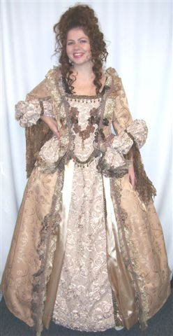18th Cent 1700's Costumes - Dutchess - Queen - American Costumes Las Vegas