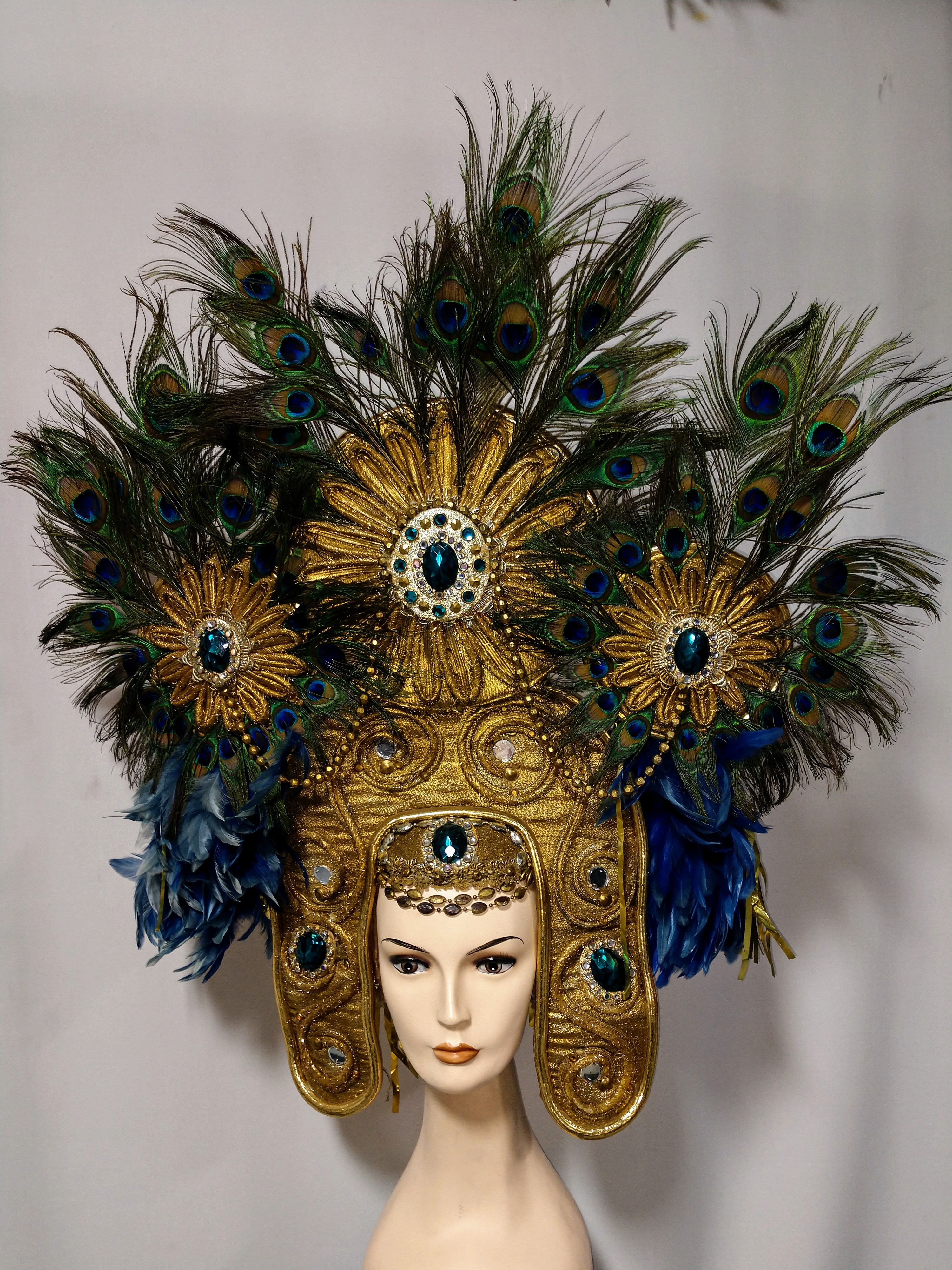 Egyptian Cleopatra  Showgirl Headdress - American Costumes Las Vegas