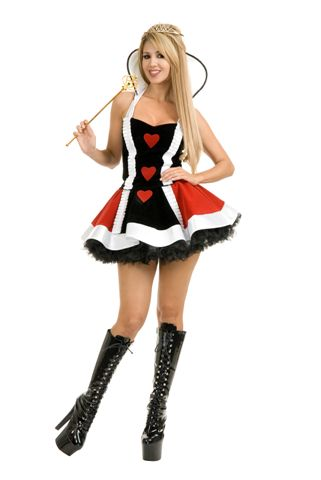 Story Book and Nursery Rhyme Costumes - Queen of Hearts - American Costumes Las Vegas