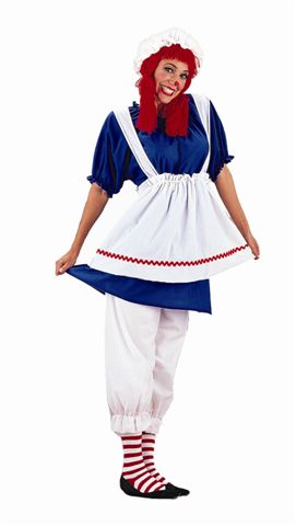 Story Book and Nursery Rhyme Costumes - Raggedy Ann - American Costumes Las Vegas