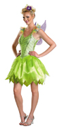 Story Book and Nursery Rhyme Costumes - Green Fairy , Tinker Bell - American Costumes Las Vegas