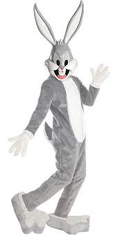 Cartoon Characters Costumes - Bugs Bunny  - American Costumes Las Vegas