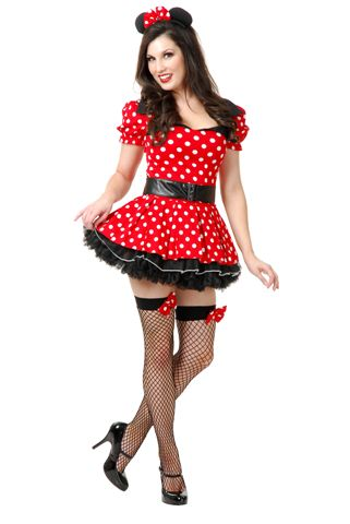 Cartoon Characters Costumes -  Red Dress Mouse - American Costumes Las Vegas