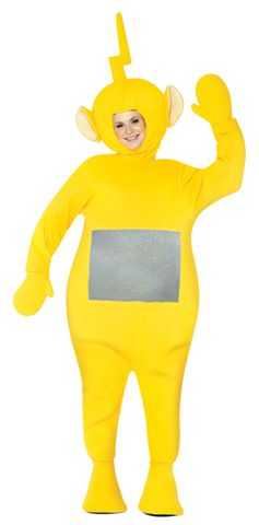 Cartoon Characters Costumes -  Yellow Teletubbies - American Costumes Las Vegas