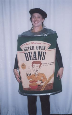 Food and Drink Costumes - Beans - American Costumes Las Vegas