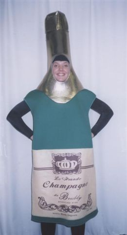 Food and Drink Costumes - Liquor - Champagne - American Costumes Las Vegas