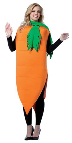 Food and Drink Costumes - Vegetables-Carrot - American Costumes Las Vegas