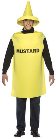 Food and Drink Costumes -Mustard - American Costumes Las Vegas
