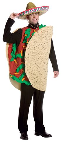Food and Drink Costumes - Taco - American Costumes Las Vegas