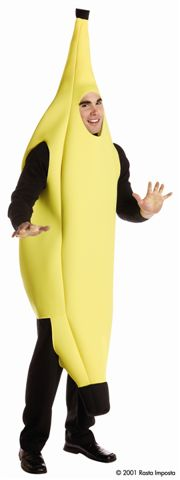 Food and Drink Costumes - Fruit - Banana - American Costumes Las Vegas