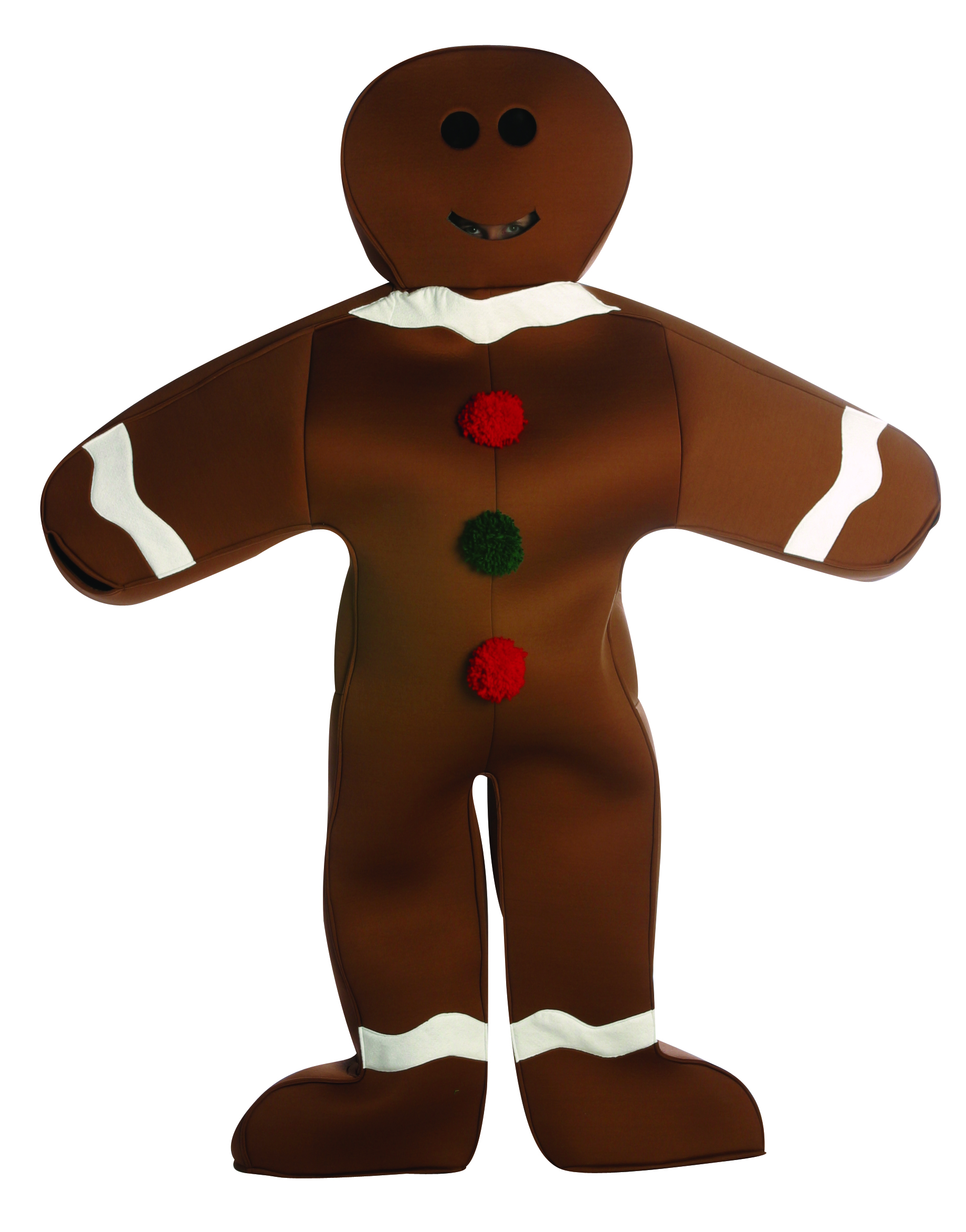 Food and Drink Costumes - Gingerbread Man - American Costumes Las Vegas