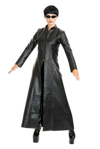 Movie Character Costumes - Street Fighter Leather Duster - American Costumes Las Vegas