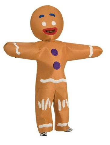 Movie Character Costumes -  Gingerbread Man - American Costumes Las Vegas