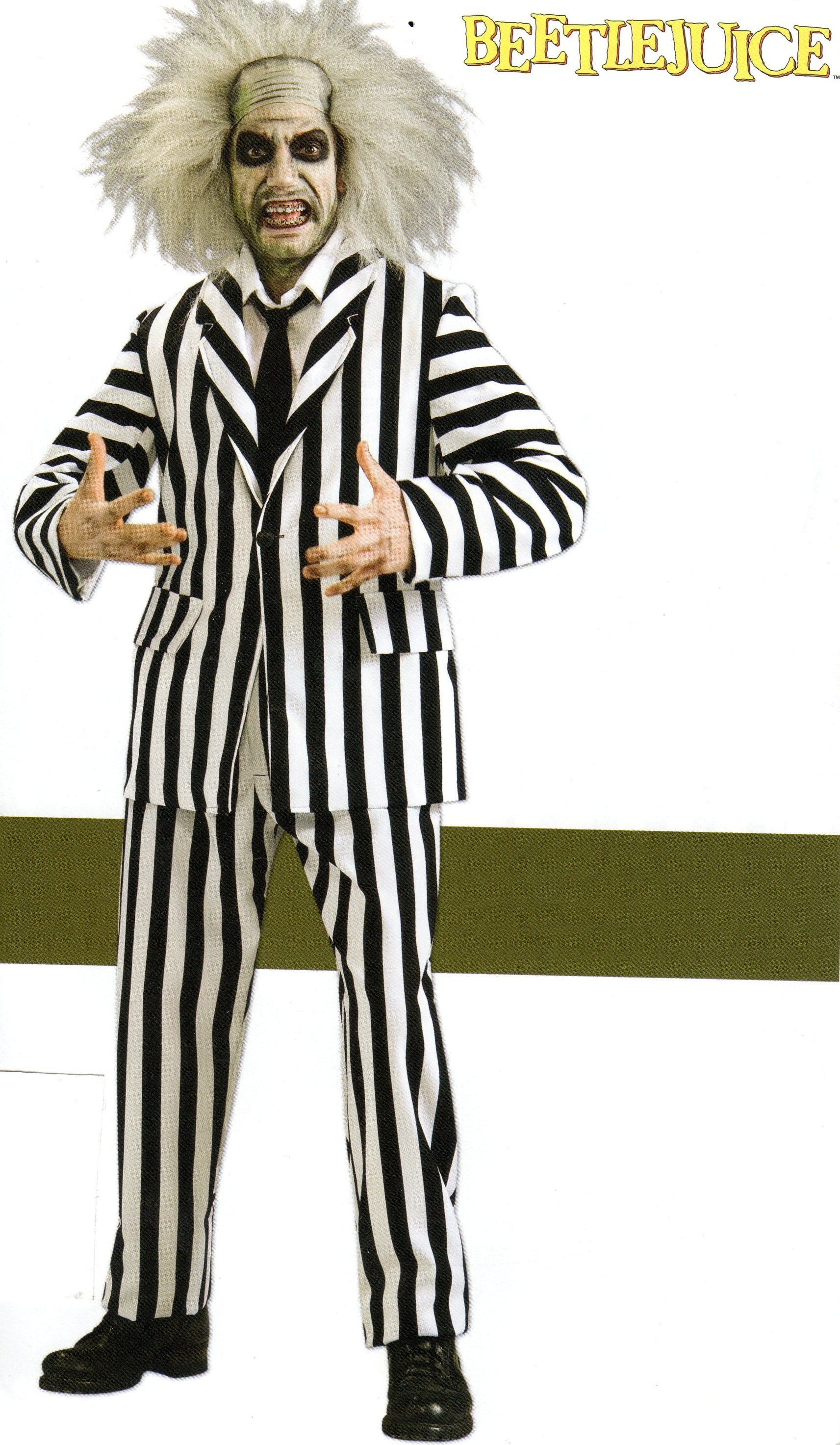 Movie Character Costumes - Beetlejuice - American Costumes Las Vegas