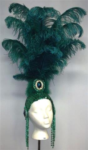 Showgirl Headdresses Las Vegas Costumes SOLD BUT CAN BE ORDERED ON REQUEST - American Costumes Las Vegas